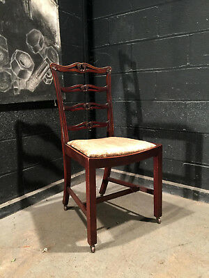 Can Deliver Victorian Chair On Castors Ideal Shabby Chic Project Antique