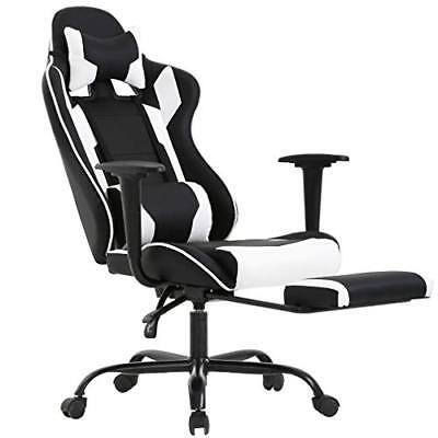 Gaming Office Chair - (High-Back PU Leather Racing & Reclining Computer)Chair