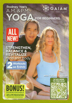 Rodney Yee's : A.m & P.m Yoga For Beginners (Dvd)