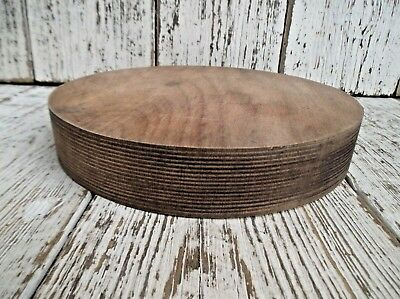 Small Vintage Round Wooden Kitchen Chopping Board