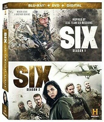 Six 1 And 2: Complete Series [New Blu-ray] With DVD, Boxed Set