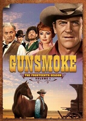 Gunsmoke: The Fourteenth Season, Vol. 1 [New DVD] Boxed Set, Full Frame, Mono