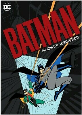 Batman: The Complete Animated Series [New DVD] Boxed Set, Slipsleeve Packaging