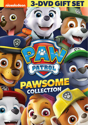 Paw Patrol: Pawsome Collection [New DVD] 3 Pack, Ac-3/Dolby Digital, Amaray Ca