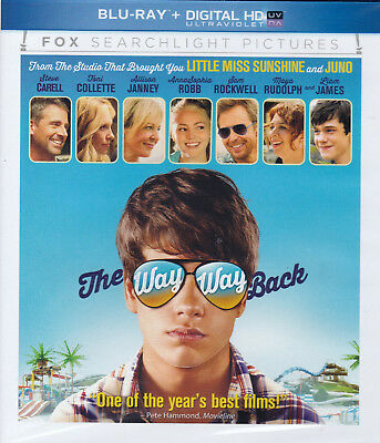 The Way Way Back (Blu-ray Disc, 2013) Steven Carell~Toni Collette - New Comedy