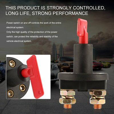 12V 250A Car Boat Battery Isolator Disconnect Rotary Cut Off Power Kill SwitchSC