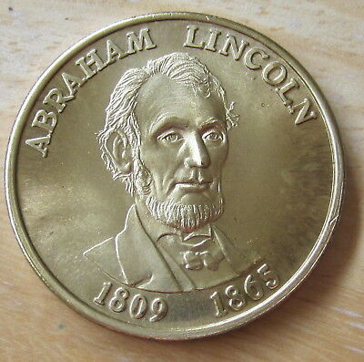Abraham Lincoln 1809-1865 United States of America 16th President MEDAL