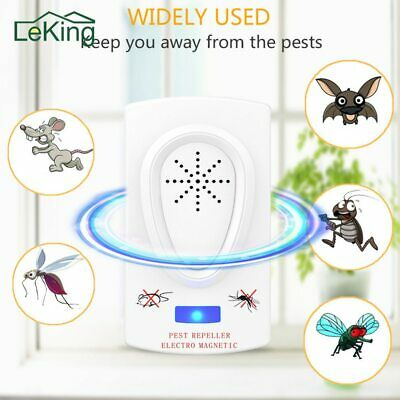 Ultrasound Mouse Cockroach Repeller Device Insect Rats Spiders Mosquito Killer
