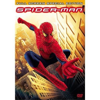 Spider-Man (DVD, 2002, 2-Disc Set, Special Edition Full Frame) DISC IS MINT