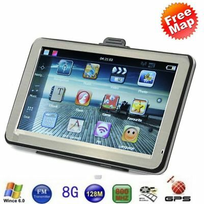 4.3-Inch 8GB ROM+256M RAM Resistive Touch Screen GPS Navigator For Car AUOX