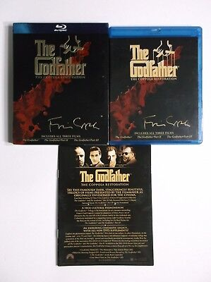 The Godfather Collection(The Coppola Restoration) (Blu-ray Disc, 2008, 4-Disc)