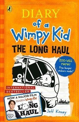 The Long Haul (Diary of a Wimpy Kid) By Jeff Kinney
