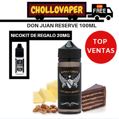 Don Juan Reserve 100ml - Kings Crest liquido vapeo e-liquid +1 Nicokit Gratis