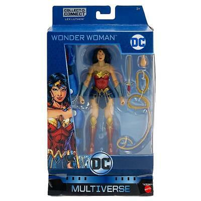 "Dc Multiverse Wonder Woman Collect & Connect Lex Luther 6"" Action Figure Toy"