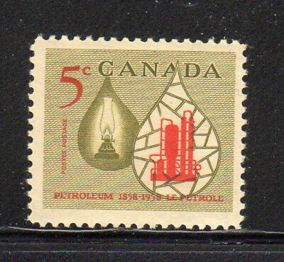 Canada #381  1958  Oil Industry    Mint  Vf Nh  O.g