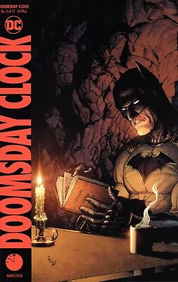 Doomsday Clock Comic 3 Variant Cover DC 2018 Johns Frank Anderson