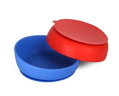 Doidy Silicone Suction Toddler Bowl - 3 colours