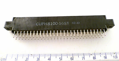 SAE CUPH8100-56ST Edge Connector 56 Way PCB  0.125inch Pitch MBF006L