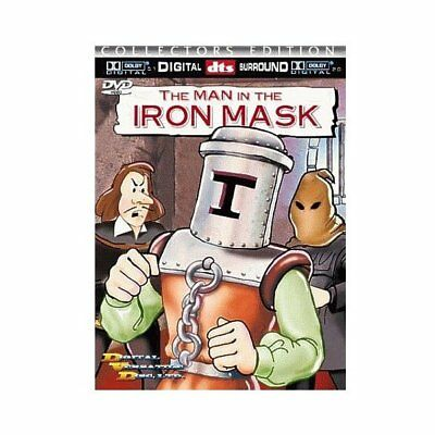 The Man in Iron Mask (Animato Versione),Nuovo DVD ,Colin Friels,Gwen Piombo,J