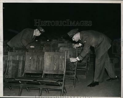 1939 Press Photo Madison Square Garden searched for German US Bund rally