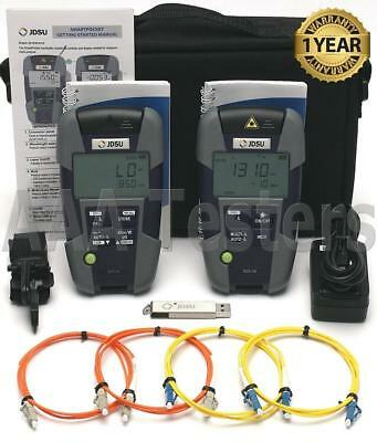 JDSU Acterna OLS-36 OLP-35 SM MM Fiber Loss Test Set OLS36 OLS 36 OLP 35 OMK-36