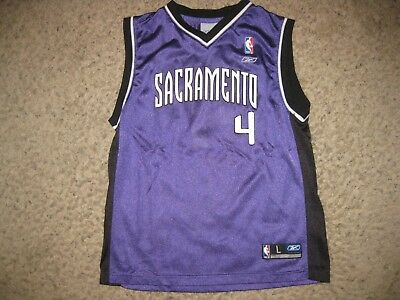 b5fed5a0c46 Sacramento Kings Chris Webber NBA Basketball Jersey Team Youth L Reebok  Vintage