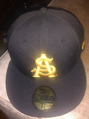 huge selection of c58e1 0a479 ... new zealand nwt new era 5950 ncaa arizona state sun devils fitted hat  cap 7 1