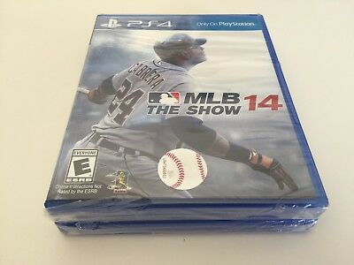 MLB 14: The Show (Sony PlayStation 4, 2014) PS4 NEW
