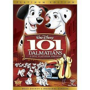 101 Dalmatians (DVD, 2008, 2-Disc Set, Platinum Edition)new fast shipping