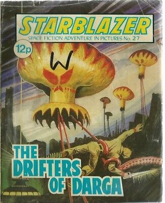 The Drifters Of Dargo,starblazer Space Fiction Adventure In Pictures,comic,no.27
