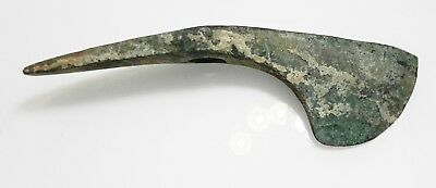 ZURQIEH -as10761- ANCIENT LURISTAN, HUGE BRONZE AXE HEAD. 1200 - 900 B.C