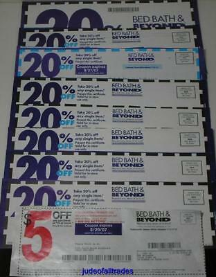 15 Bed Bath & Beyond Coupons (3) $10 Off $30 And (12) 20% Off Single Item
