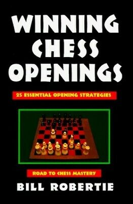 Winning Chess Openings (Chess books) by Robertie, Bill Paperback Book The Cheap