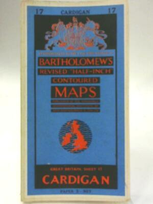 Bartholomew's Revised Half Inch Maps Sheet 15 Cardigan (1111) (ID:62802)