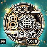 80s Soul Jams Vol. II (2) - Ministry Of Sound - Various (NEW 3CD)