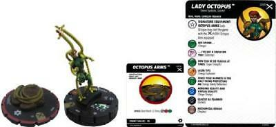 Lady Octopus #049 Earth X Marvel Heroclix (w/ Octopus Arms #S004) NM