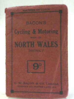 Bacon's Cycling & Motoring Map of North Wales (Unnamed - 1111) (ID:08927)