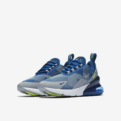 wholesale dealer ddaef 40c98 Nike Air Max 270 Kjcrd Gs - Uk Size 3 - Grey Blue Green