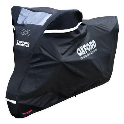 Oxford Stormex Reflective Waterproof Motorcycle Cover All Weather Medium / M