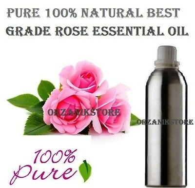 Rose Essential Oil Pure Natural 100% Therapeutic (5ml-500ml ) Aromatherapy F/SH