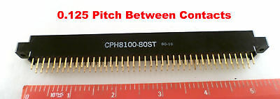 SAE CUPH8100-80ST Edge Connector 80 Way PCB 0.125inch Pitch MBF006M