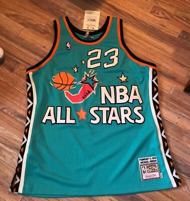 7acbe7faacd 100% Authentic Michael Jordan Mitchell & Ness 1996 All Star Jersey Xl Nwt