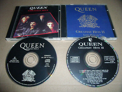 2 x Queen - Greatest Hits I + Greatest Hits II
