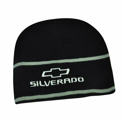 7c09b1deb94 Hat - Chevrolet Silverado Embroidered Knit Beanie Cuffless Cap FREE SHIPPING