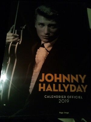 calendrier mural Johnny Hallyday (édition 2019) Collectif Neuf Livre