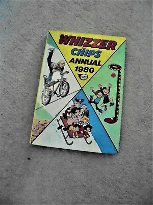 WHIZZER and CHIPS     ANNUAL  1980  VERY GOOD CONDITION