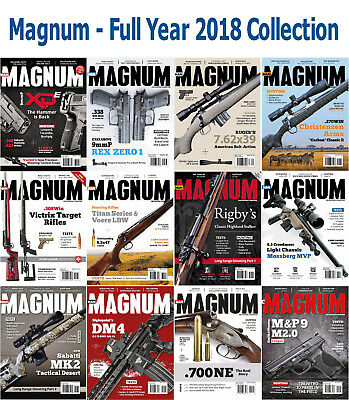 Magnum - 12 Magazines - 2018 Full Year Issues - Digital PDF