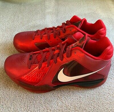 timeless design 7f4a1 31d2d DS Deadstock Nike Kevin Durant KD 3 III All Star LA West Red Size 9.5