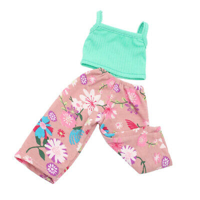Doll Clothes for 18inch AG American Doll Doll Camisole Tank Tops Trousers Pants