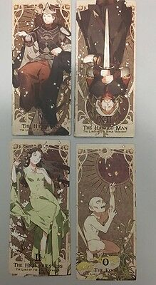 Oop The Lord of Rings tarot 78 cards deck Self published Hard to get
